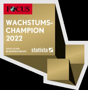 Logo Wachstumschampions 2022 (Focus)